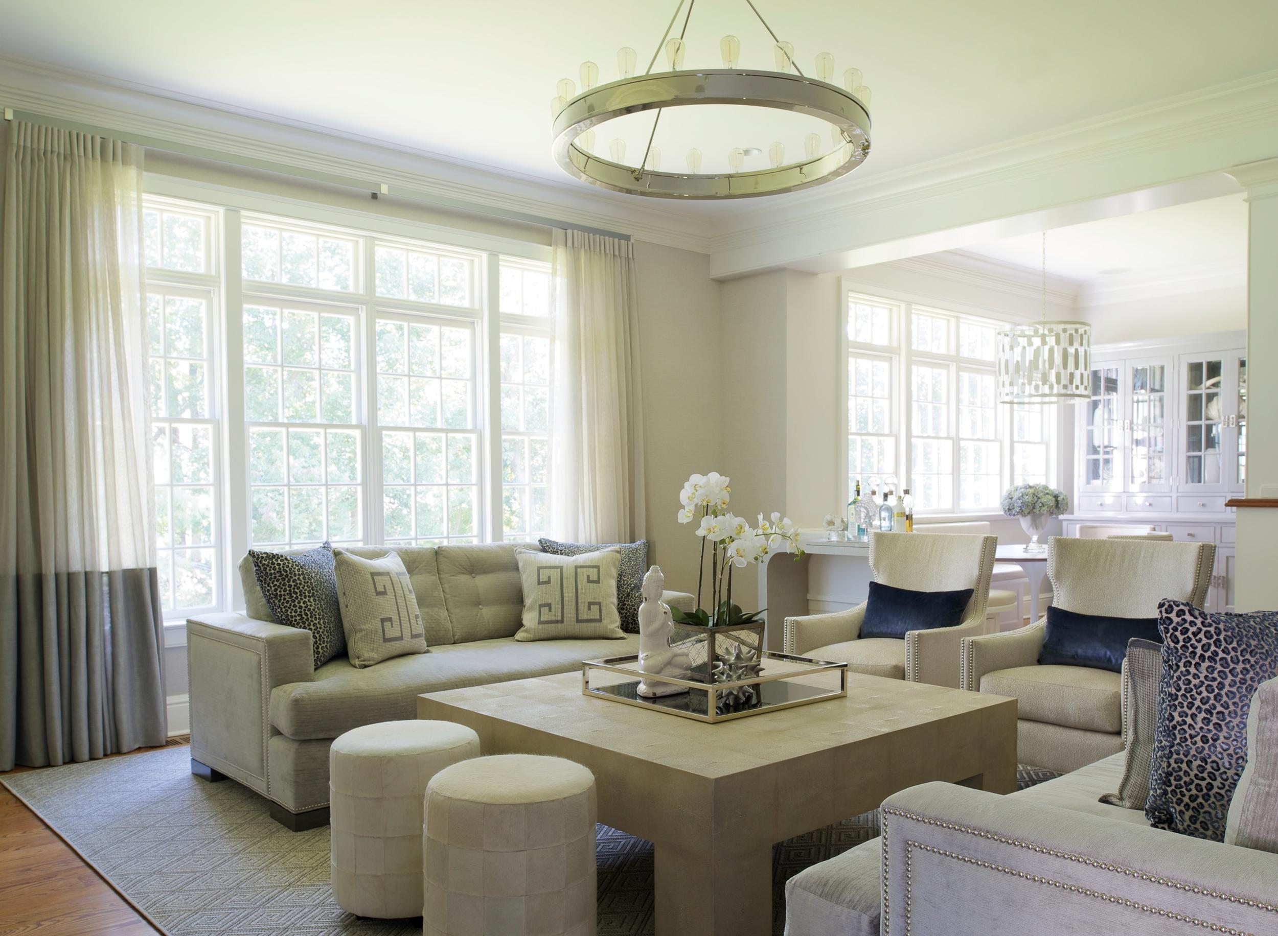New Traditional Westport Living Room