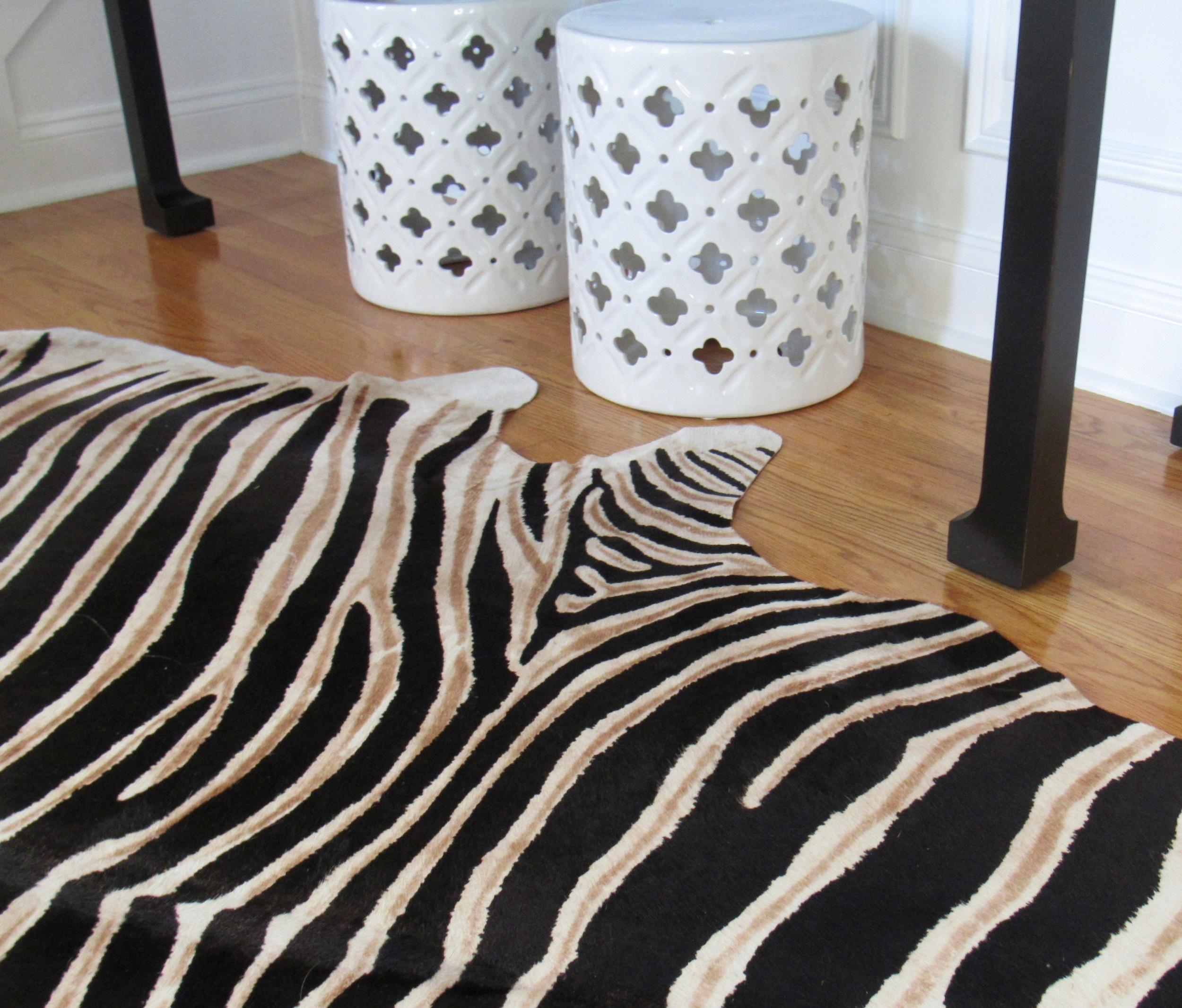 Fairfield Transitional hide rug