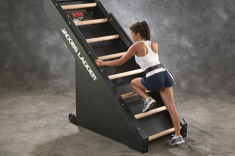 Woman Getting On Ladder.JPG