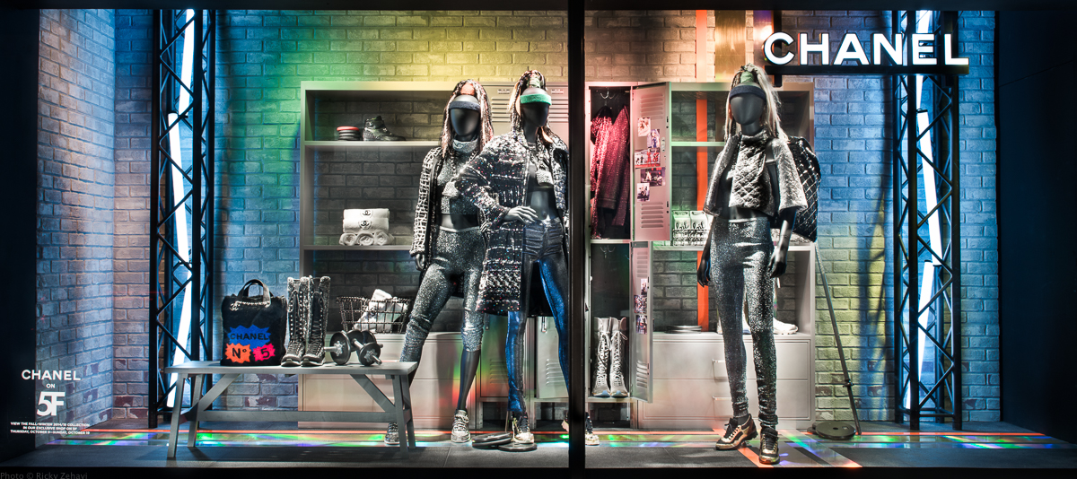 Chanel Window - Pop Up @ Bergdorf Goodman - Photo from Bergdorf Goodman