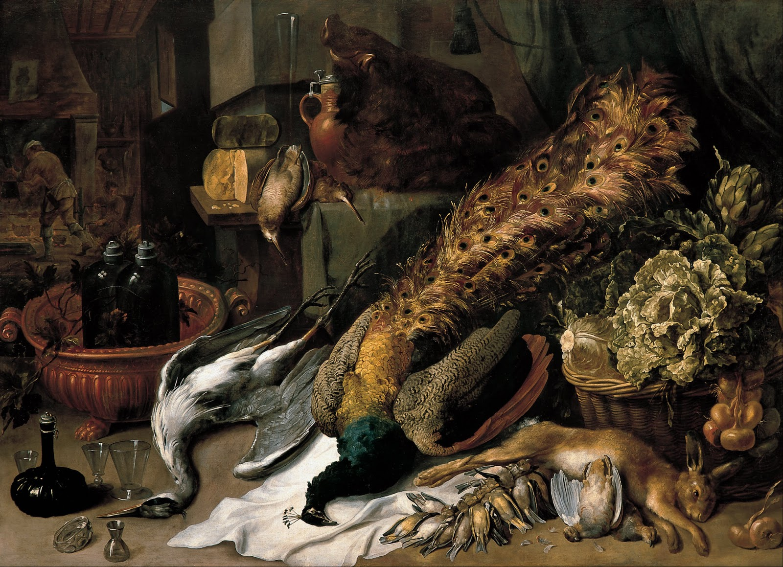Frans Snyders |Still Life with a Wine Cooler