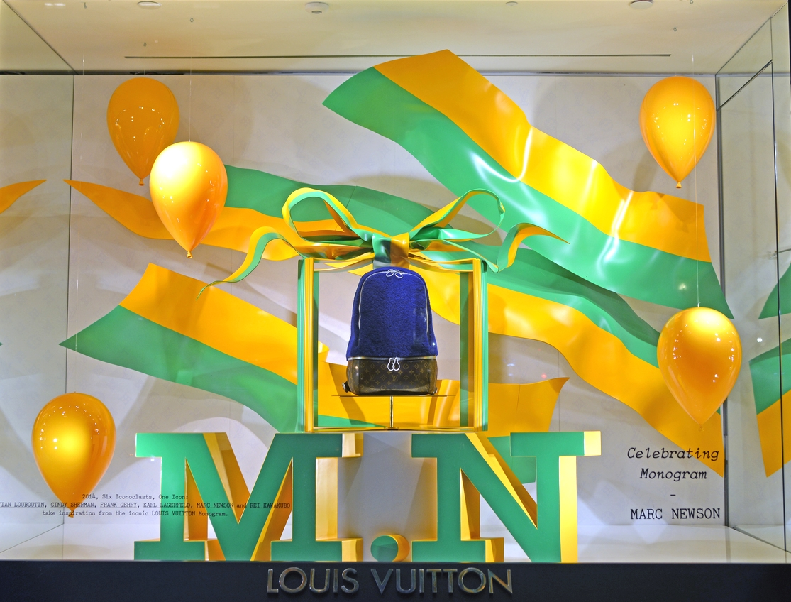 Window Display for Marc Newson - Louis Vuitton