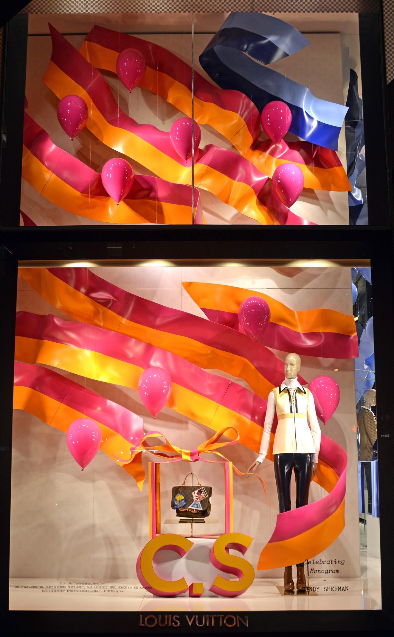 Window Display for Cindy Sherman - Louis Vuitton