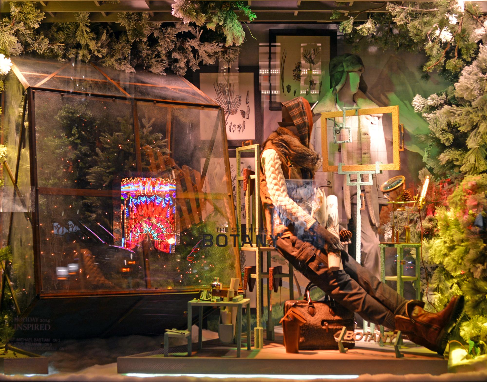 Botany - Bergdorf Goodman Men's | Lauren L Caron © 2014