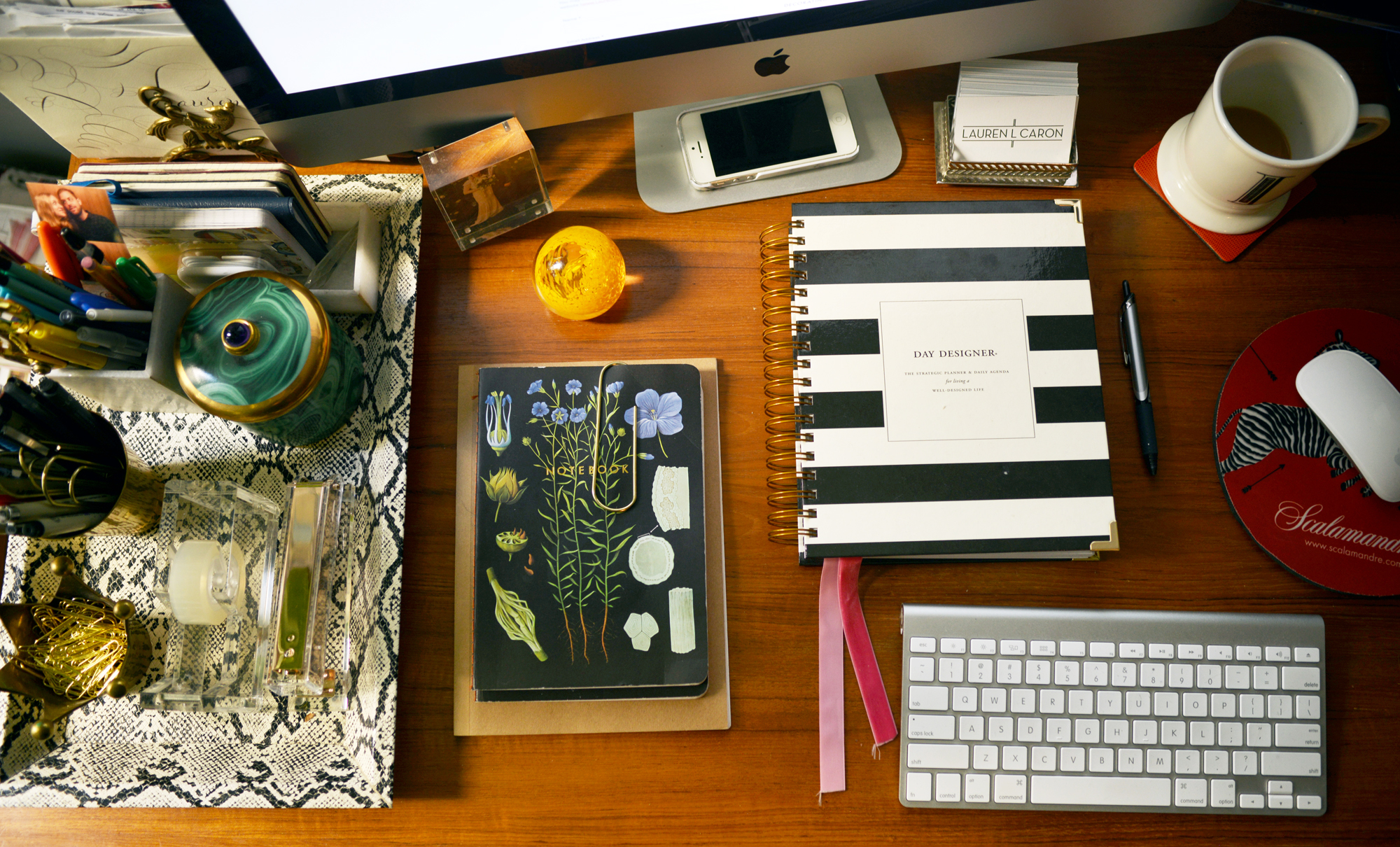 My Desk| Fourth Floor Walk Up Office