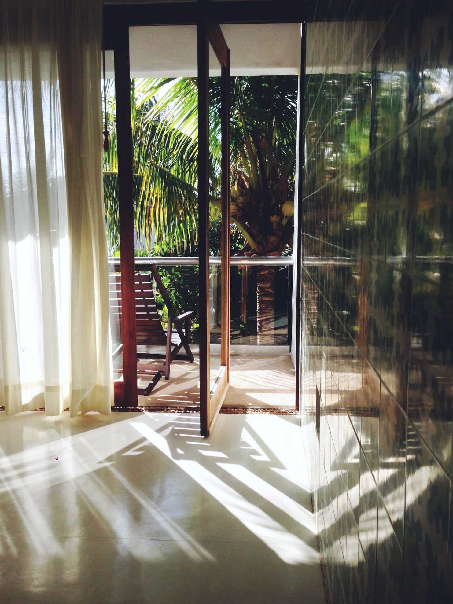 A shot from our hotel room in Mexico last May. | Photo Lauren L Caron