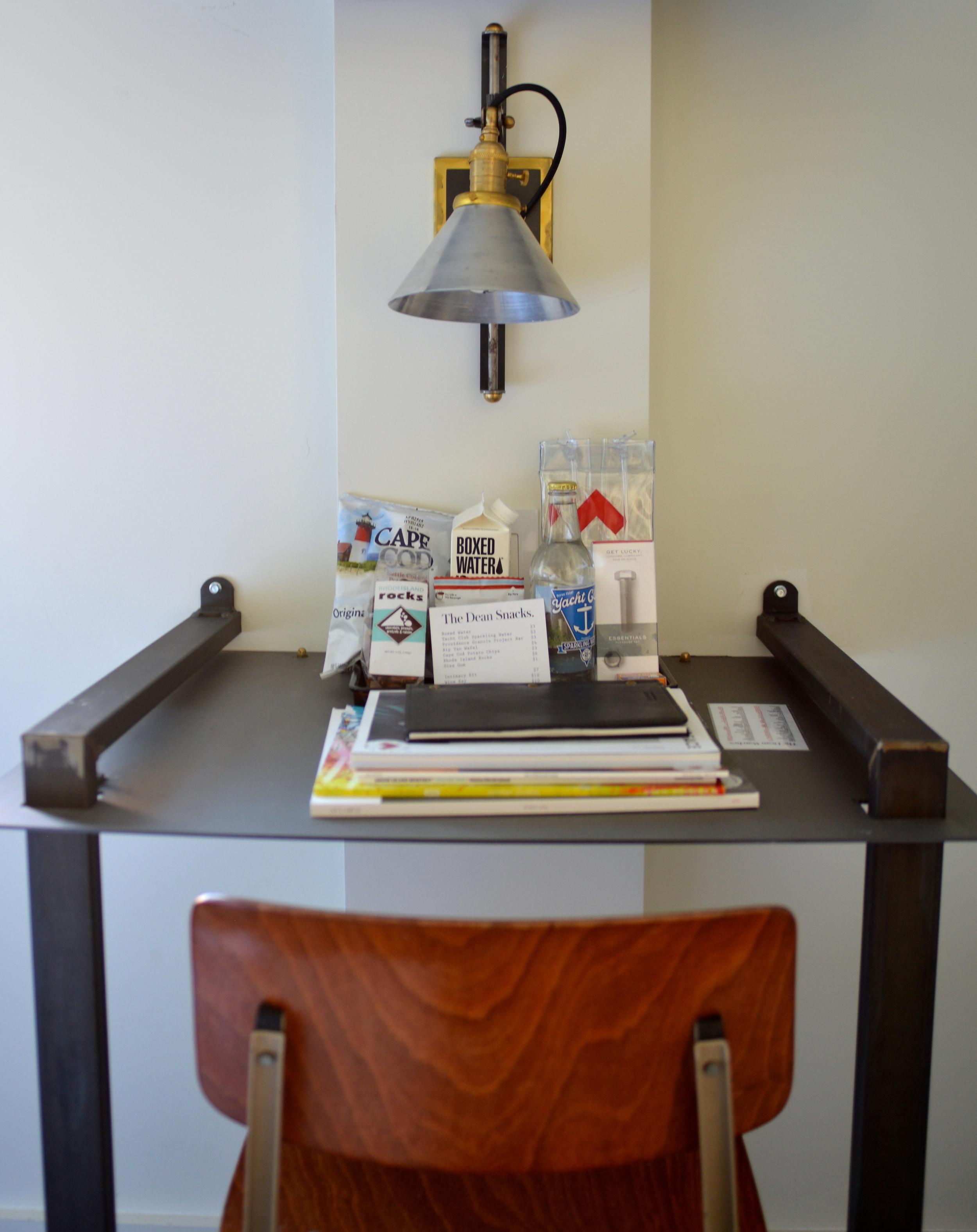 Industrial Desks - Photograph by Lauren L Caron | The Dean Hotel