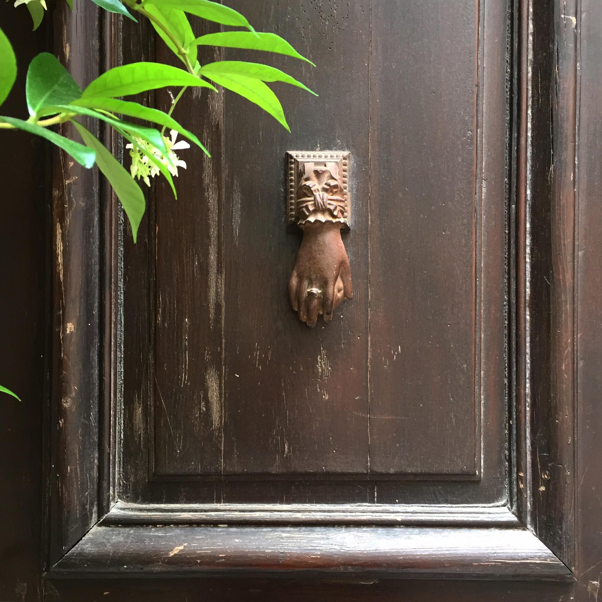 The Entrance Door Knocker | Photograph by Lauren L Caron © 2015