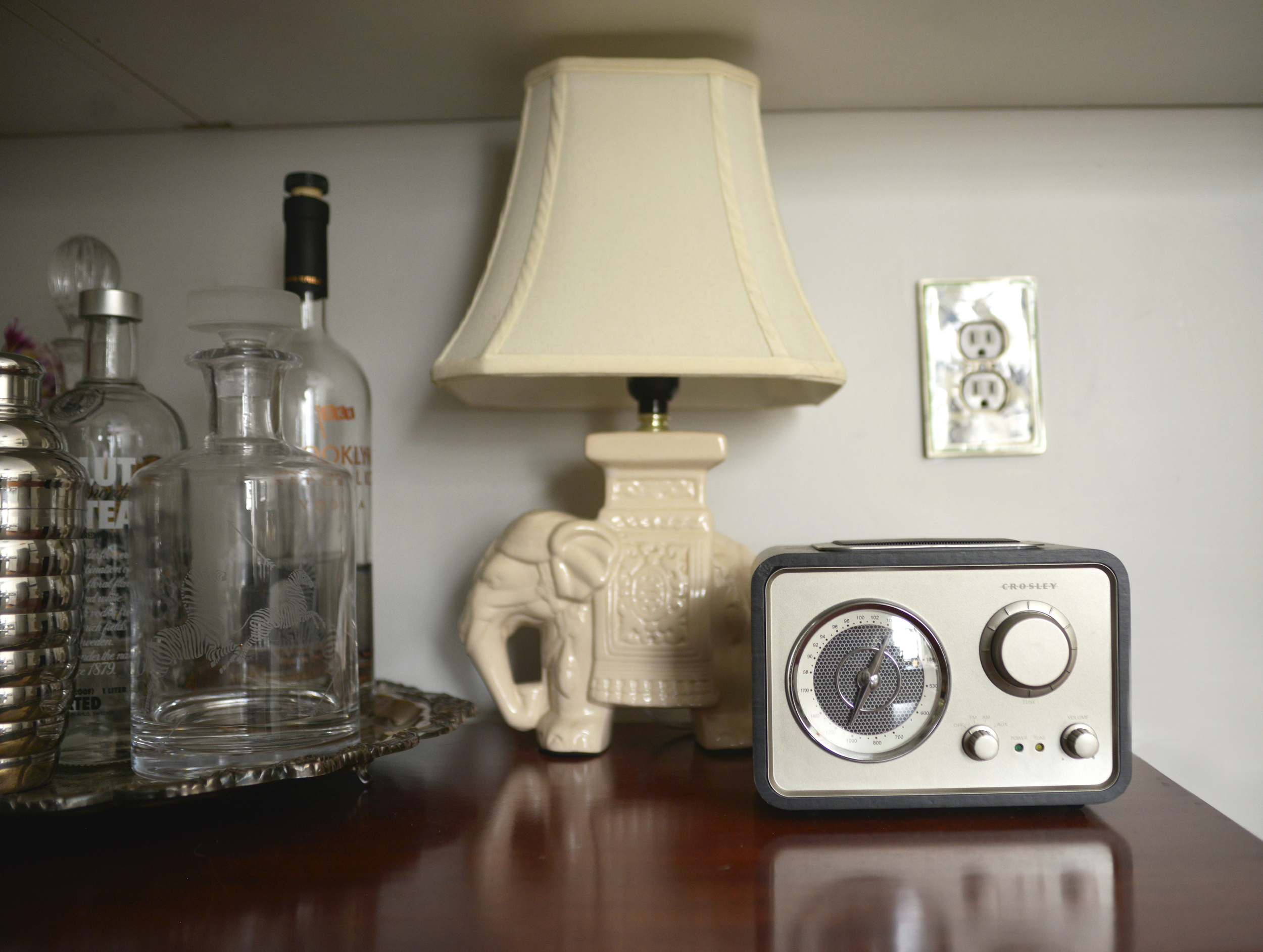 Crosley Radio  | Photograph by Lauren L Caron