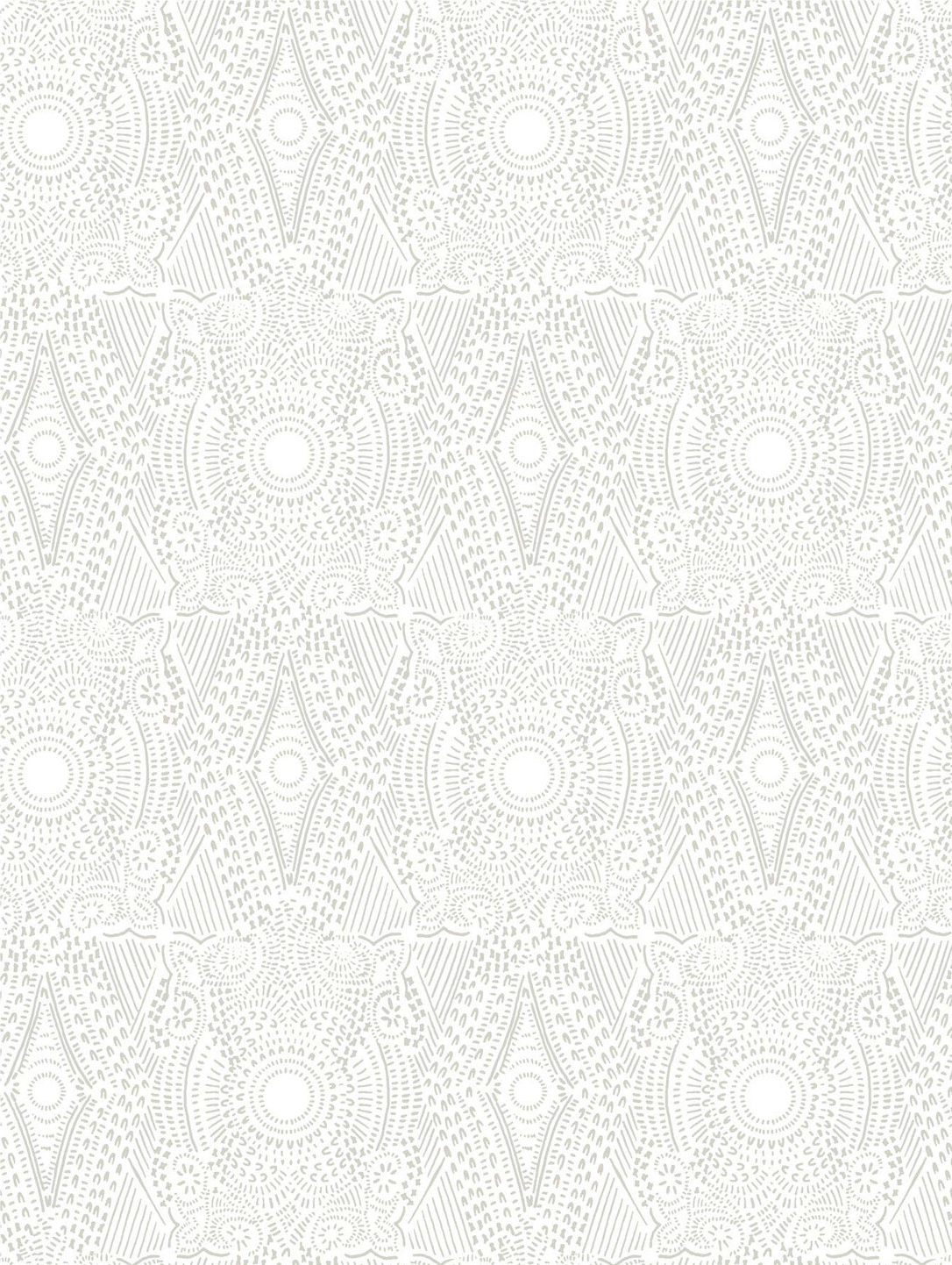 Diamante Pattern in Grey and White | By Hygge & West
