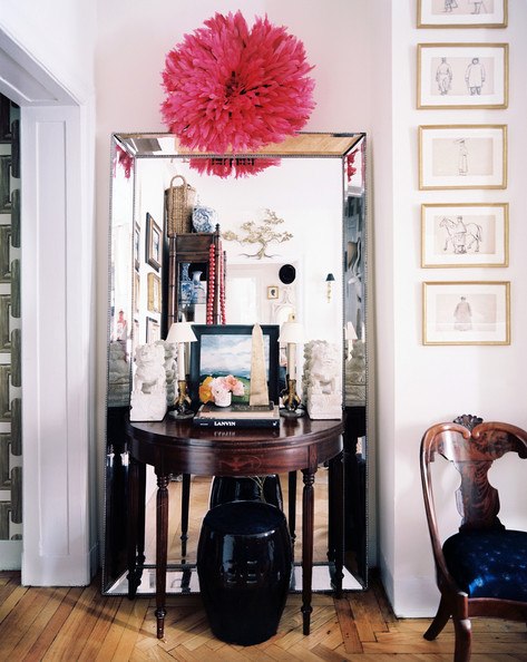 Foyer Inspiration | Interior Design - Jessika Goranson | Lonny Mag | Photos - Patrick Cline