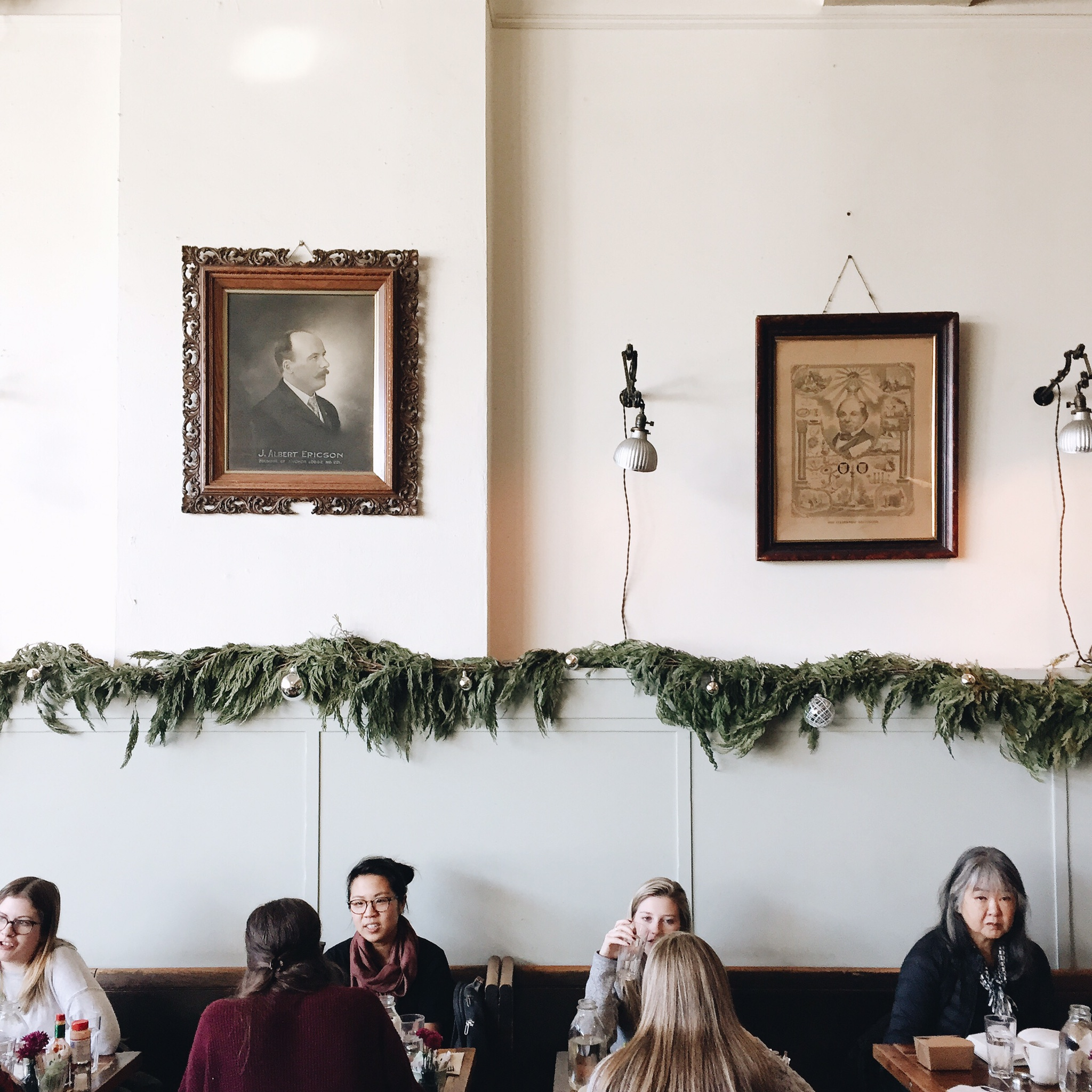 Oddfellows Cafe | Not directly around the corner but a 12 min walk from the house.