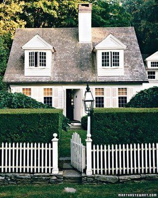 Hampton's Cottage from Martha Stewart