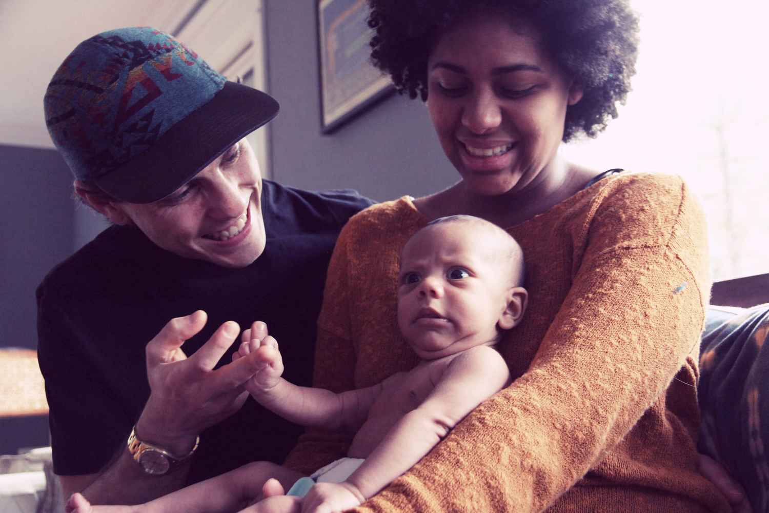 """""""...how grateful I am for the loving support of the Bridgetown Baby team. Our son is getting to know us as our best selves."""" - Camilla M. (Photo credit: Brita Johnson)"""