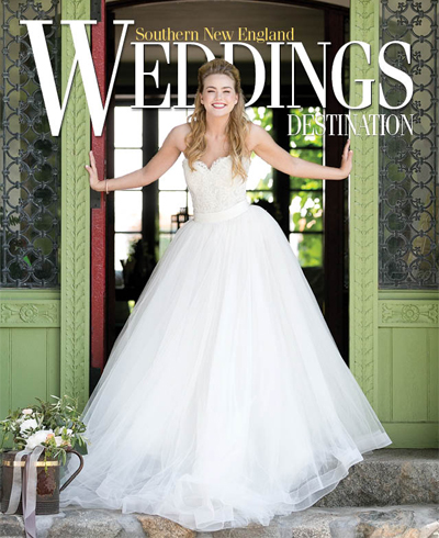 Southern New England Weddings  Destination 2015  Featuring hair twig (pg. 20, 22, 23)