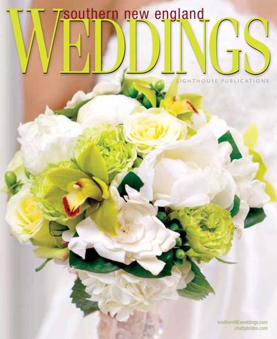 "Southern NE Weddings, Spring 2013  ""Spectacular Style""  Featuring a rhinestone-encrusted sash (pg. 61), rhinestone hairpiece (pg. 64), and rhinestone headband (pg. 65)"