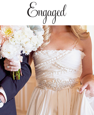 Engaged Blog, December 20, 2013  Ashley & John  Wearing the Superwoman sash