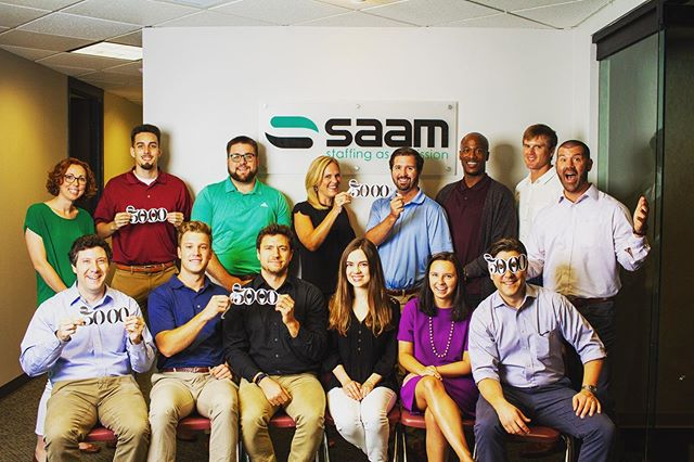 """It seemed like there was constant tension between profits and people,"" says SaaM CEO Jonathan Barnes. Our latest blog (link in bio) looks at how SaaM began, focused on one question: Could a staffing company grow based solely on the way it treated people?  #lovetostaff #livetoserve #fulfillpurpose #staffing #inc5000 #inc #incredible  @incmagazine"