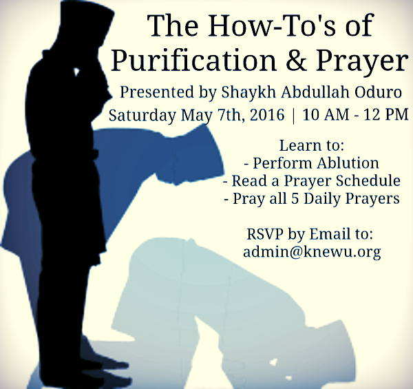 how to purify & pray