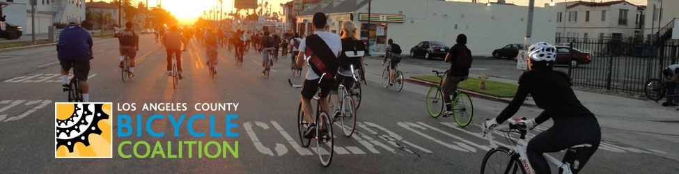 Source:  Los Angeles County Bicycle Coaltion