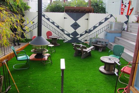 The Toms backyard (Photo credit: Tatiana Arbogast)