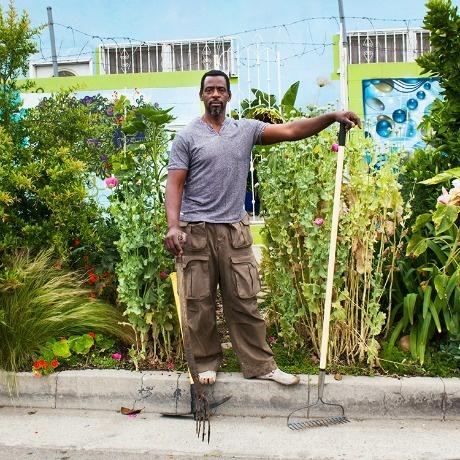 Guerrilla gardener Ron Finley