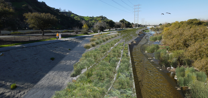 A revitalized river would function as an extended greenway