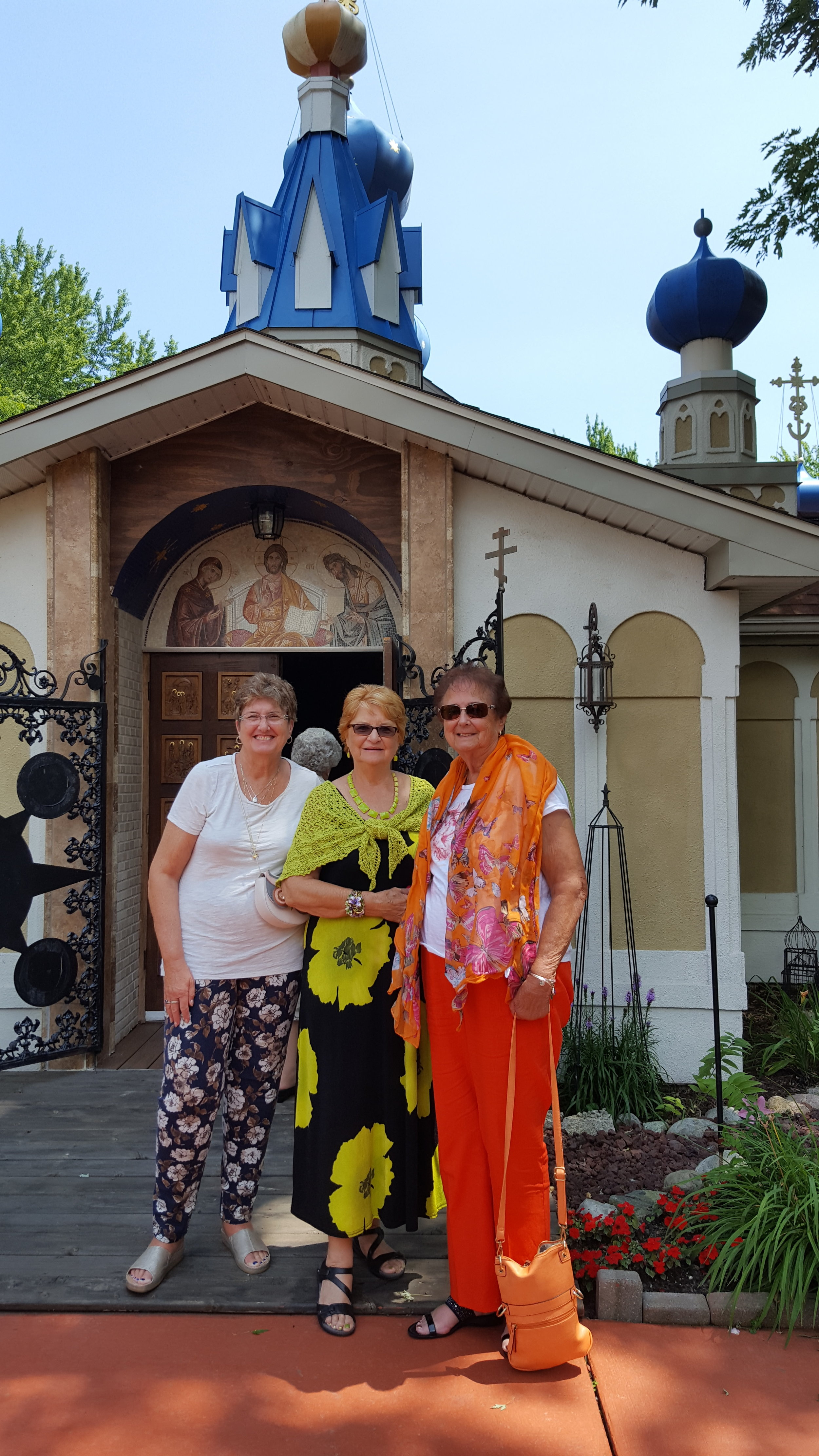 Afternoon Tea at Russian Monsastery