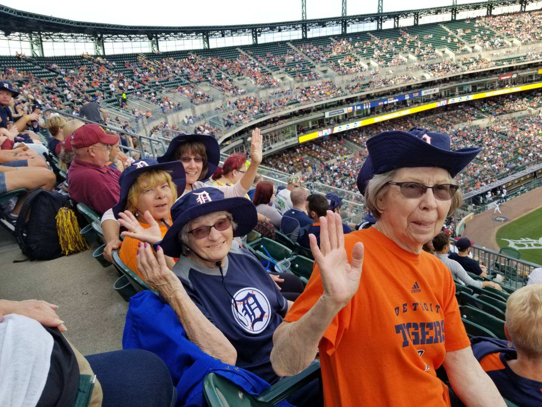Detroit Tiger's Game