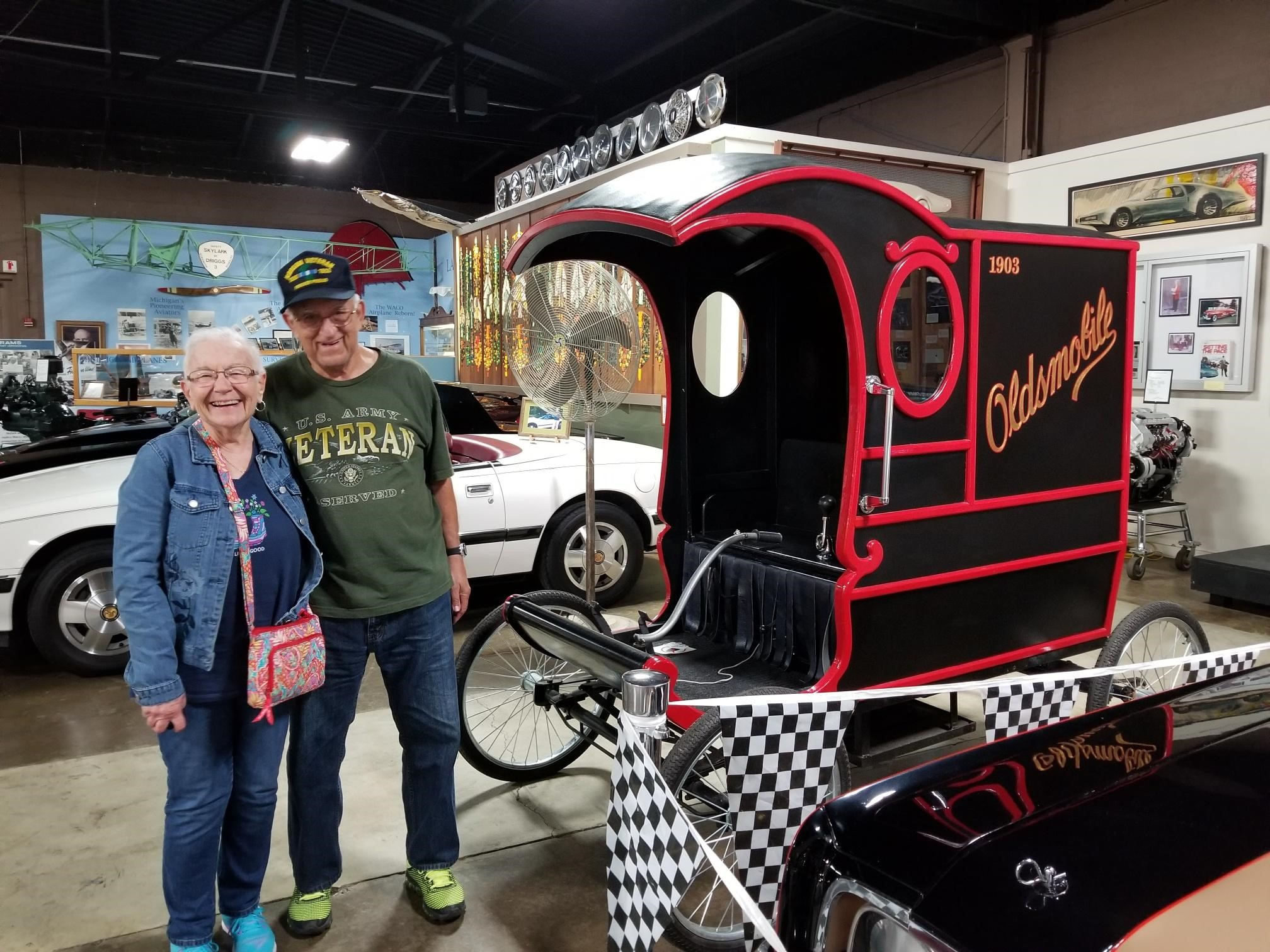 Mystery Trip 2018- REOLDs Oldsmobile Museum