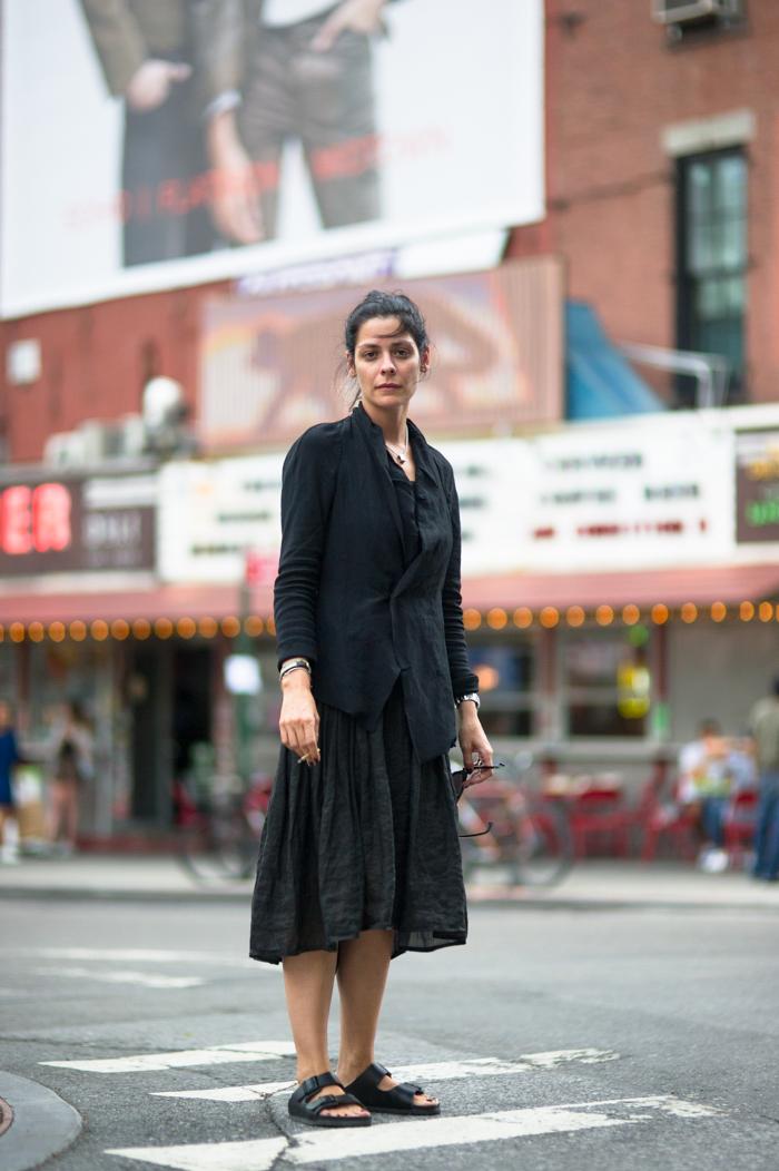 Christina Lynch Uma Wang Birkenstock Hakusan Glasses 白山眼鏡 New York Fashion Street Style Blog An Unknown Quantity