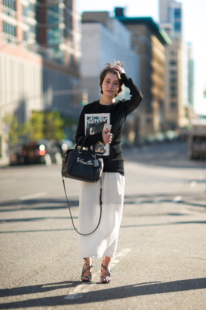 Marie Pascal COAHC New York Fashion Week NYFW An Unknown Quantity Street Style Blog