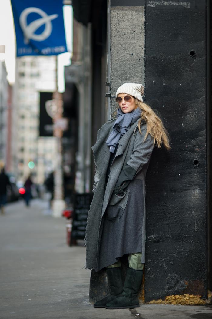 Elizabeth Berkley Lauren Greg Lauren New York Fashion Street Style Blog An Unknown Quantity