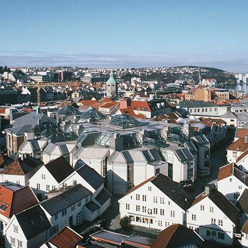 SØLVBERGET STAVANGER KULTURHUS   + HOUENS FONDS DIPLOM 1994 + MARBLE ARCHITECT AWARDS 1993 + BETONGTAVLEN 1988