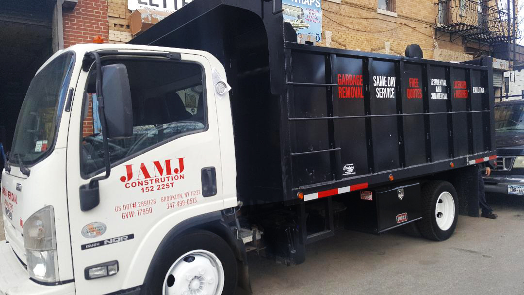 JAMJ Construction & Garbage Removal