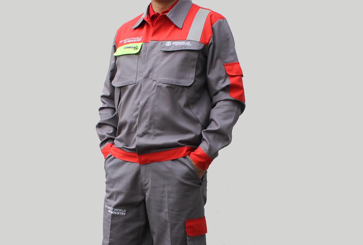 ISO zertifizierte Safety Wear Kremsmüllergruppe