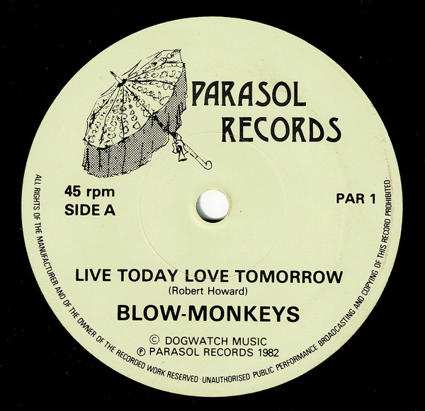 Live Today Love Tomorrow (Non Album Single)