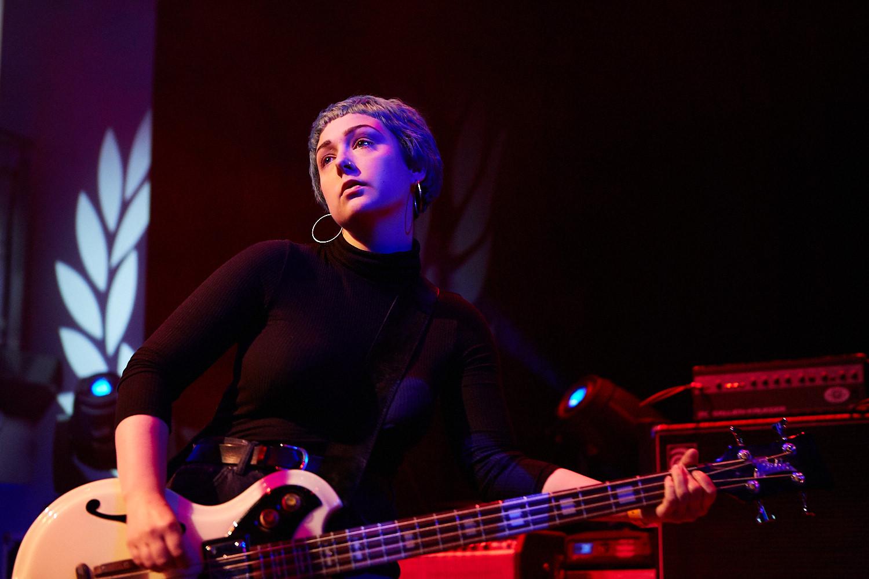 Nottingham Band Kagoule play Trent University in Nottingham as part of Dot to Dot Festival 2015.
