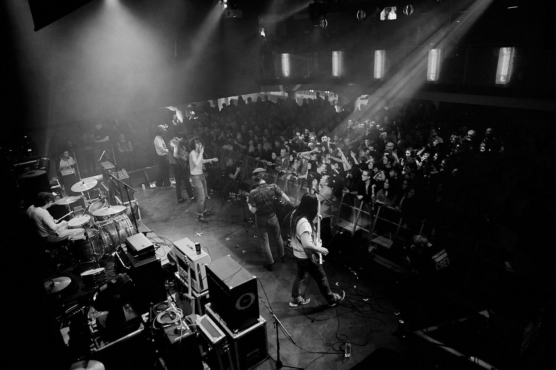 Fat White Family play Trent University in Nottingham as part of Dot to Dot Festival 2015.