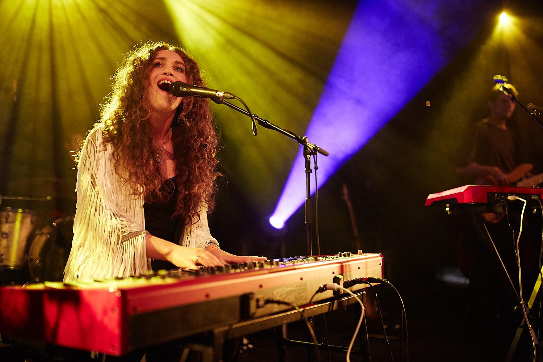 Rae Morris plays Rock City in Nottingham as part of Dot to Dot Festival 2015.