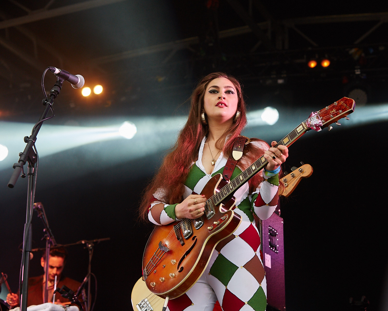 20th June 2015. Kitty Daisy & Lewis plays Barclaycard British Summertime in London's Hyde Park.