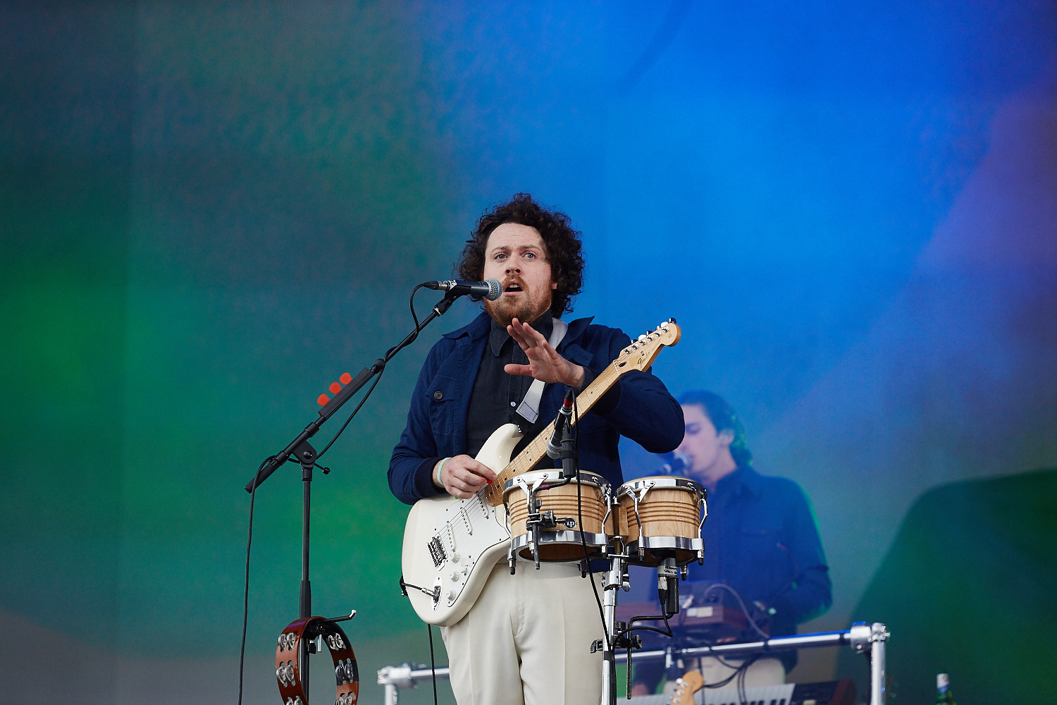 20th June 2015. Metronomy plays Barclaycard British Summertime in London's Hyde Park.