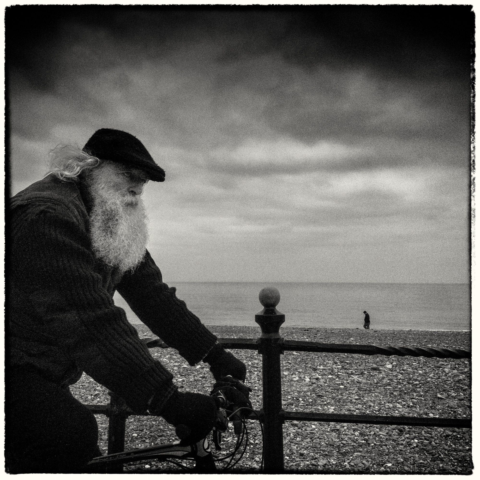 Old man in Bray
