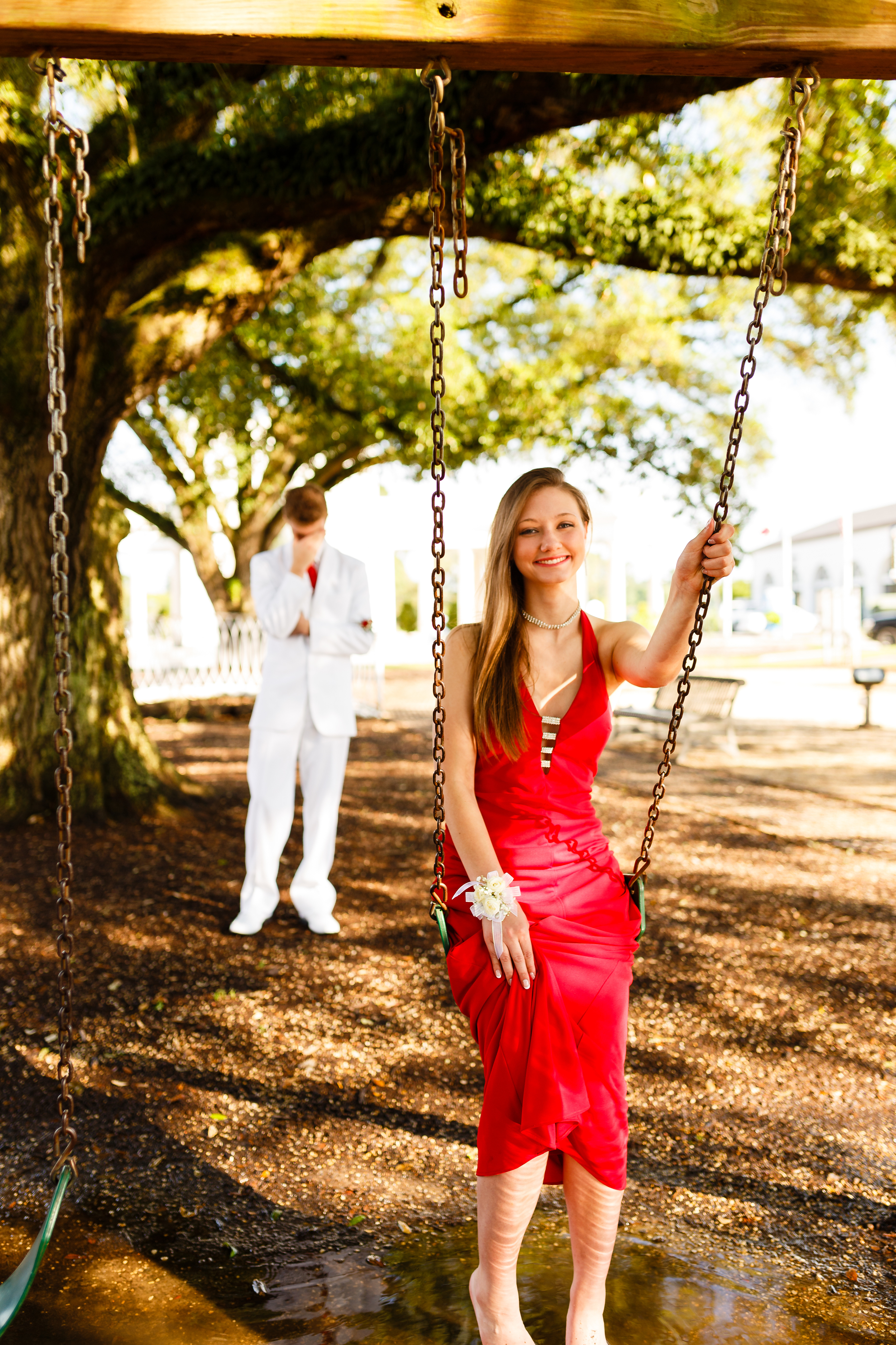 Prom Portrait at Parc Lafayette in River Ranch
