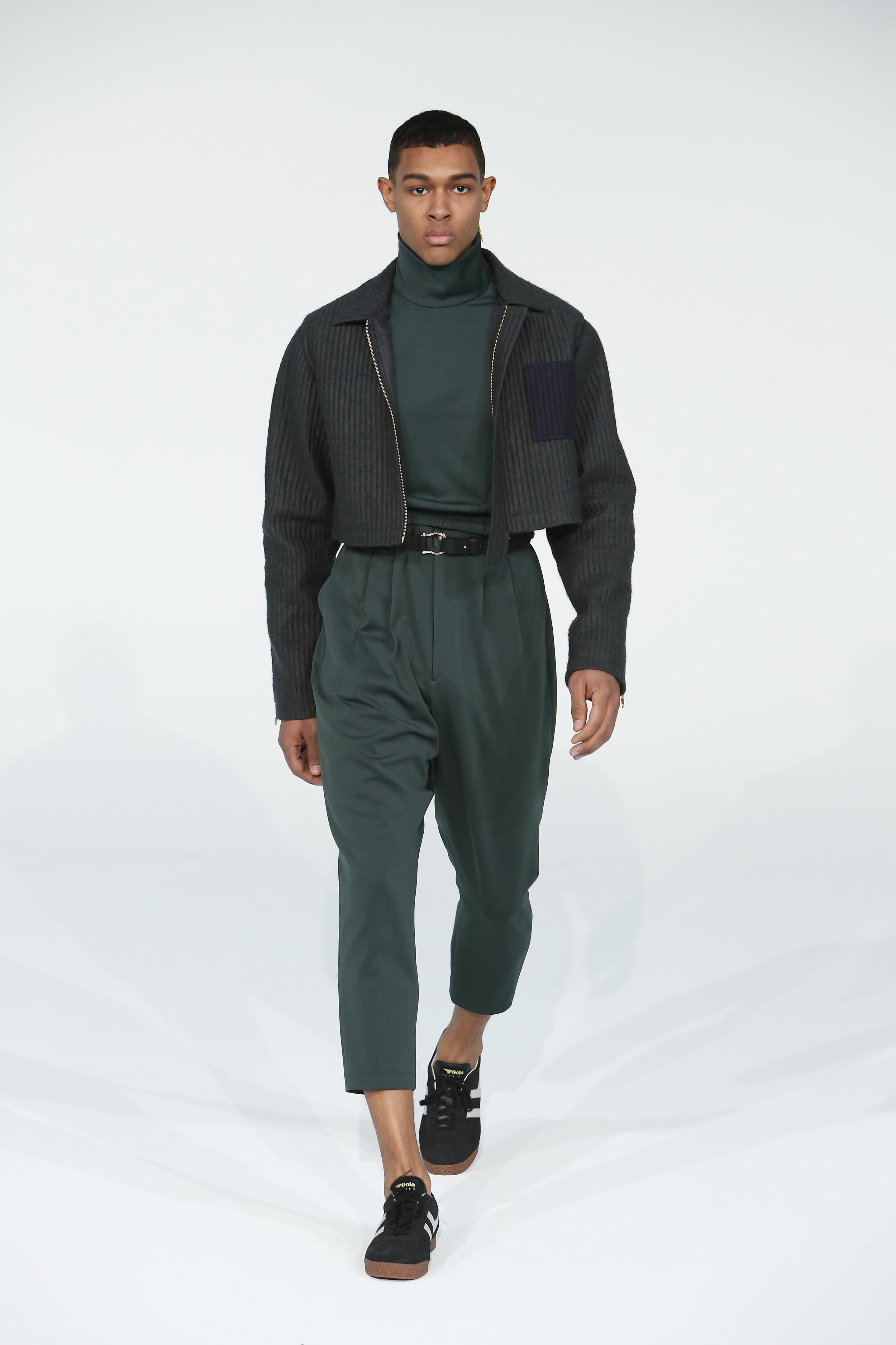 Copy of EMERALD CITY CROPPED JACKET