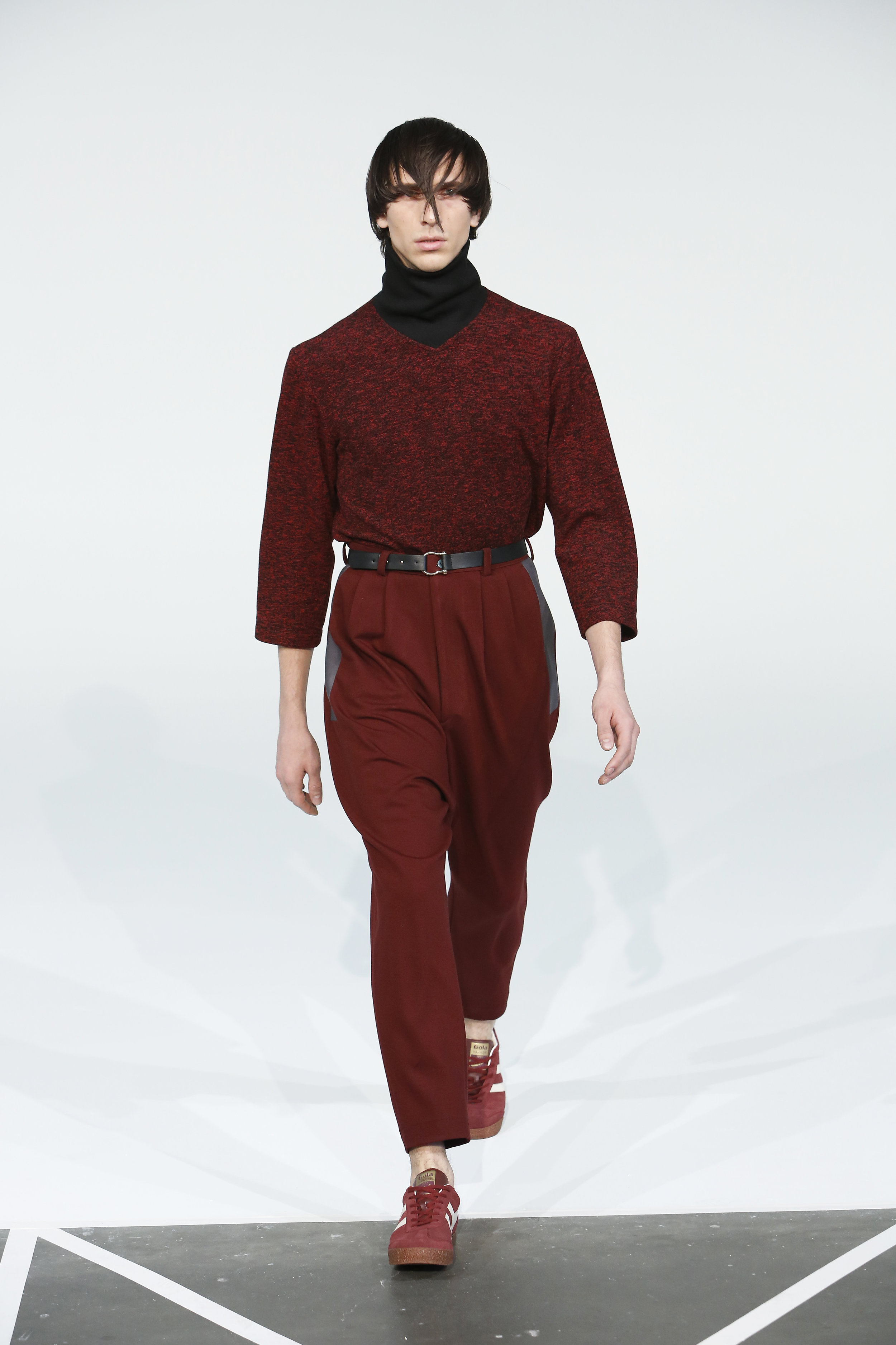 Copy of RUBY RED BACK ZIP SWEATER