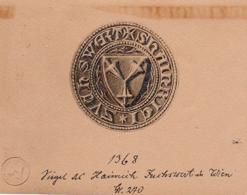 Siegel von Hainrich 1368 (Foto: zvg.)