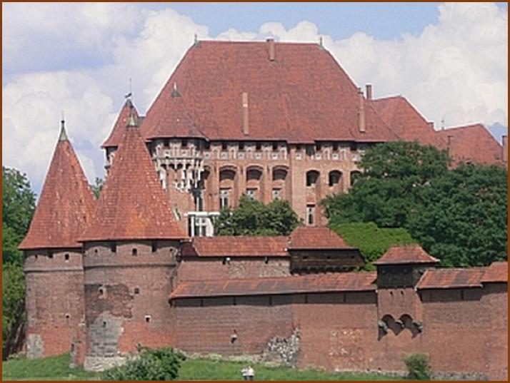 Festung des Deutschen Ordens, Marienberg in Malbork, Polen. (Foto: zvg.)