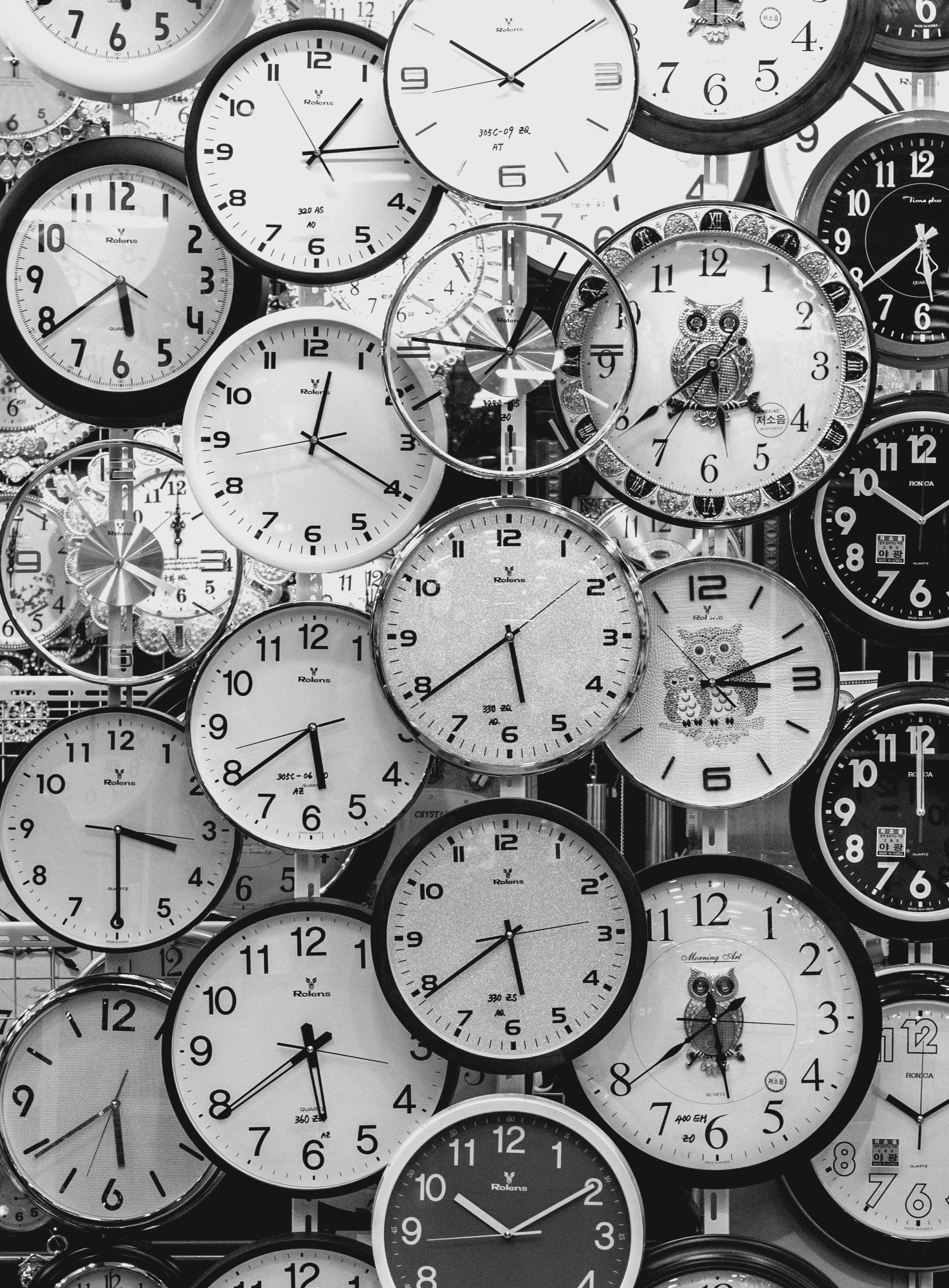 «Time never happens» Janis Joplin (Foto: pexels.org cc)