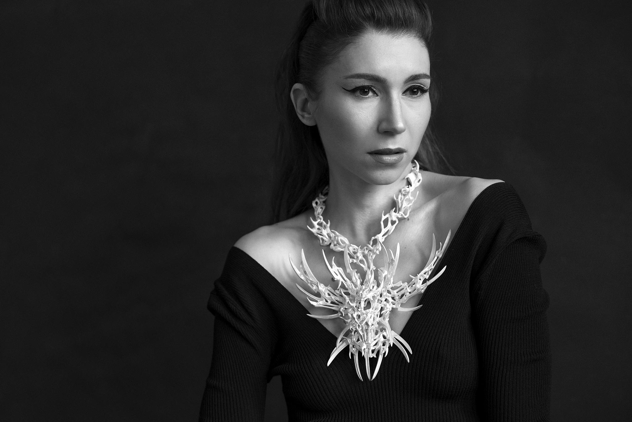 Unique necklace by Eero Hintsanen
